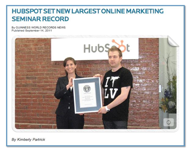 HubSpot-World_Record