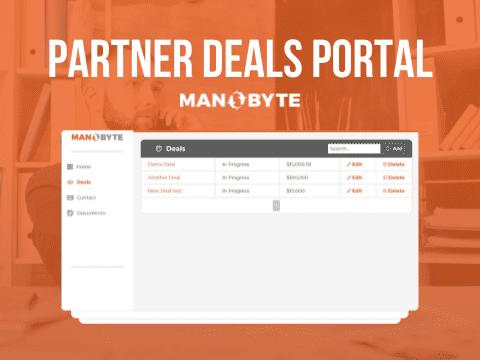 Channel Partner Deal Registation App